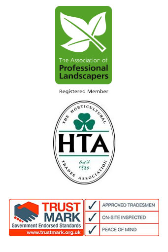 accreditation for Hartley Landscapes