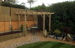 see eamples of our pergolas and arches for gardens