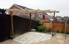 Pergolas and arches from Hartley Landscapes