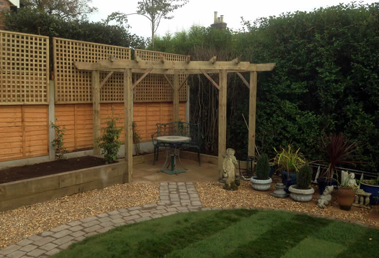 pergolas and arches by Hartley Landscapes