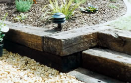 sleepers and raised beds from Hartley Landscapes