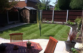 Turfing and seeding from Hartley Landscapes