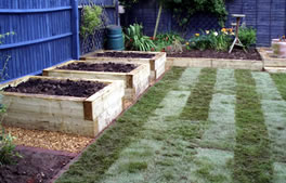 Vegetable gardens from Hartley Landscapes